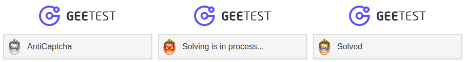 Geetest solving